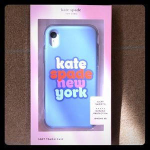Kate Spade ♠️Rare New York XR iPhone soft Case NEW